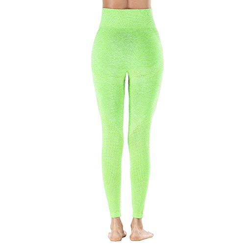 BOLANA Pantalons de Yoga Taille Haute pour Femmes Collants de contrôle du Ventre sans Couture Leggings Minceur Hip-up