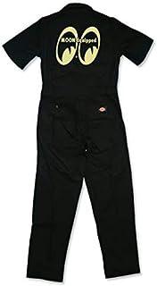 MOON Equipped カバーオール (半袖) [MQF008NBK] つなぎ (L)