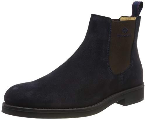 GANT Footwear Herren Oscar Chelsea Boots, Blau (Marine G69), 44 EU