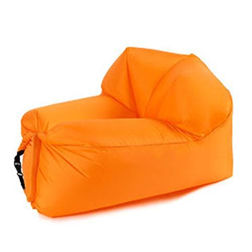 Ufblasbares Sofa Außenluft Schlafsofa Mittagspause Strand Tragbare Faule aufblasbares Sofa aufblasbares Bett Aufblasbares Sofa für zu Hause (Farbe : B, Size : 105x70x62cm)