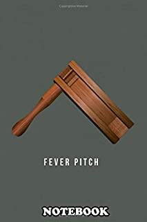 Notebook: Alternative Movie Poster Colin Ob Fever Pitch , Journal for Writing, College Ruled Size 6