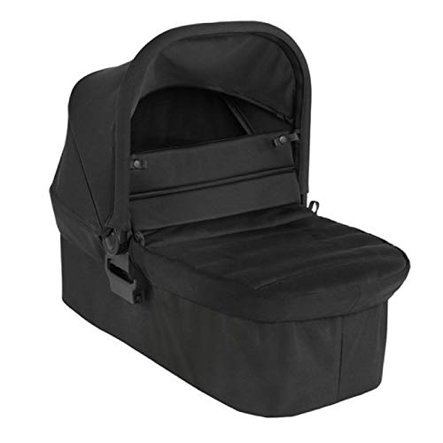 Baby Jogger Foldable Pushchair Carrycot   For City Mini 2 Double & City Mini GT2 Double Strollers   Jet (Black)