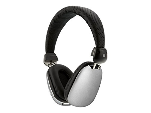 iLive iAHP46S Wireless Bluetooth Headphones, Silver