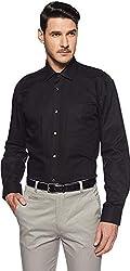 SWISSCOTT Mens Cotton Satin Slim Fit Formal Shirts