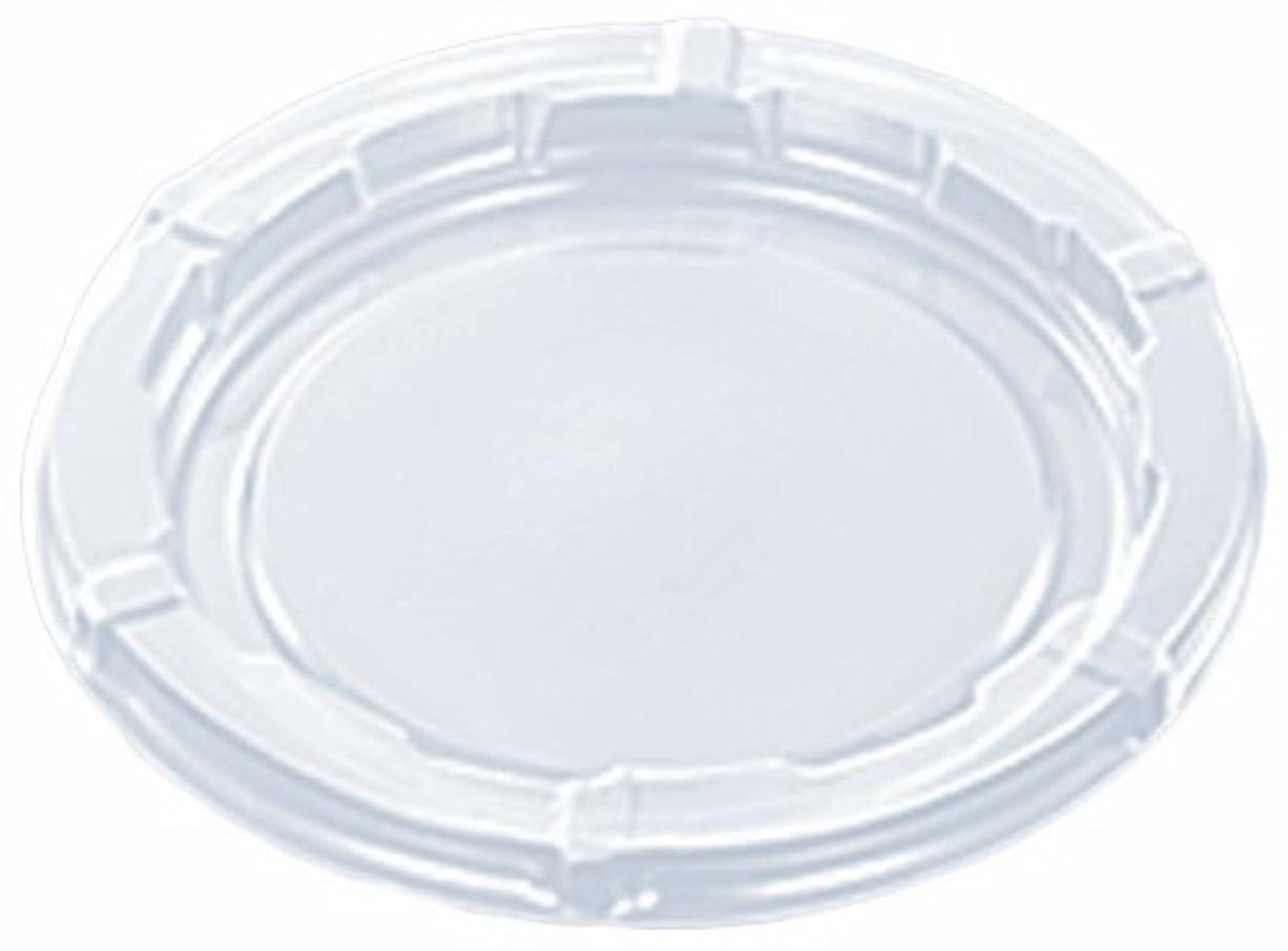 責め保持する自然中央化学 使い捨て容器蓋 CFカップ 70-110 蓋(PET) 50枚入サイズ:約7.2×7.2×0.5cm