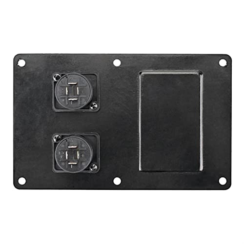 1 unids Etapa Altavoz Cableado Tablero Dual 4 Core Socket Audio Infurio Cableado Tablero de Aluminio 145mm × 90mm