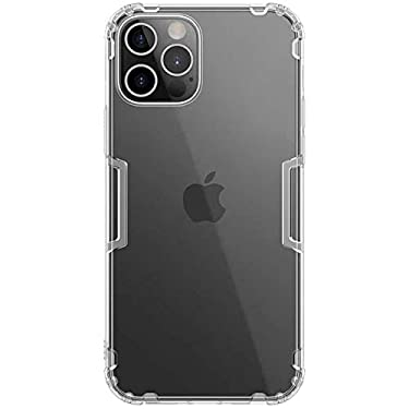 """Nillkin Case for Apple iPhone 12 / Apple iPhone 12 Pro (6.1"""" Inch) Nature Series Back Soft Flexible TPU White Color"""