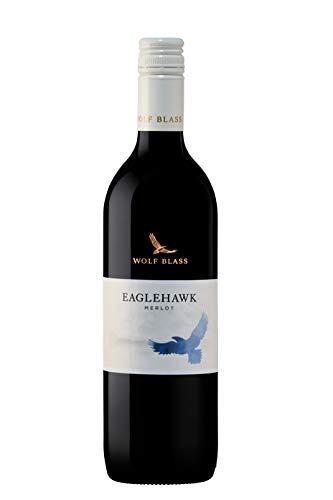 Wolf Blass Eagle Hawk Merlot Wine 750ml (case of 6), 750 ml (Pack Of 6)