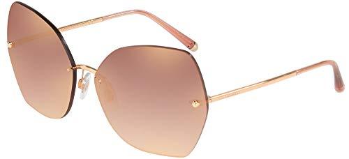 Ray-Ban Damen 0DG2204 Sonnenbrille, Braun (Pink Gold), 64.0