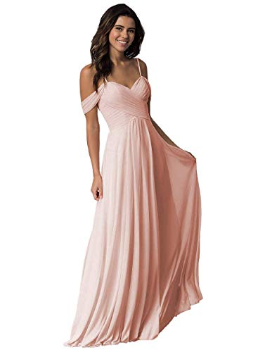Elleybuy Sweetheart Neckline Bridesmaid Dresses,Off Shoulder Fromal Dress for Women