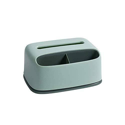 COLiJOL Dispensador de Caja de Contenedor de Alenamiento de Escritorio de Soporte de Caja de Pañuelos de Papel para Tocador de Dormitorio