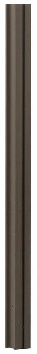 予想外哲学博士パケットタカショー ウッディープラ 支柱 ダークブラウン 900mm