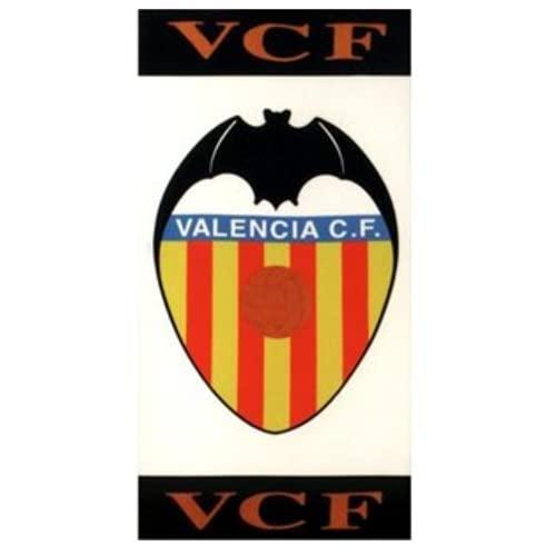 BricoLoco. TOALLA PLAYA ESCUDO VALENCIA C.F. Toalla original para playa, baño, gimnasio… Regalo para los seguidores de este equipo de fútbol. (1 ud)