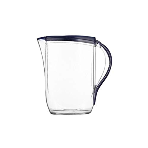 UPKOCH Jarra de Grande de 2 L con Tapa Jarra de Agua de Jarra de Agua Fría Y Caliente Resistente Al Calor Jarra para Jugo Jarra de Bebida Tetera de Hielo (Color Aleatorio)