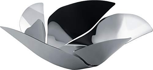 Alessi Twist Again OD02/29 Centrotavola Moderno Portafrutta di Design, in Acciaio Inox Lucido 18/10