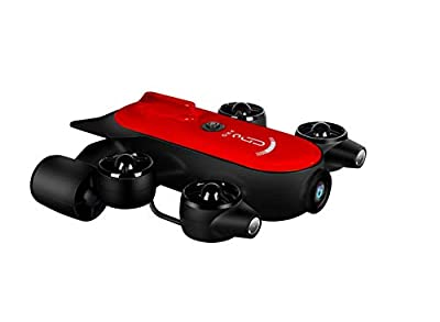 200M Tether Titan Pro Underwater Drone ROV Robot with 4K UHD Action Camera Remote Control Real-time Steaming for Viewing, Recording, Searching, Fishing, Salvage Work (T1 Pro)