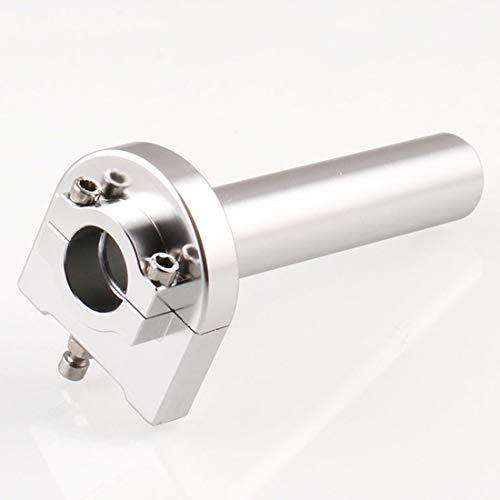Puños de moto, manija de la motocicleta Modificación accesorios universales de la perilla de aluminio de la motocicleta Modificado rápida Twister manillar del acelerador Encienda Grip