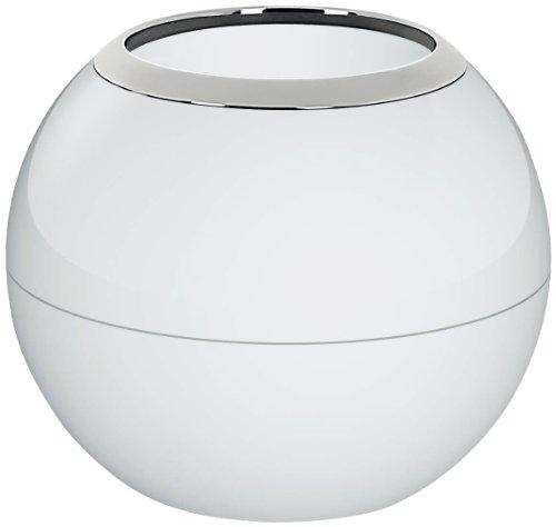 Spirella Zahnputzbecher Zahnbürstenhalter Bowl 8,5x10,5 cm Weiß
