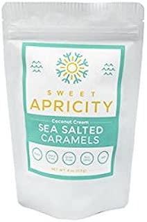 Coconut Cream Sea Salted Caramels, 1/4 lb (4 oz)