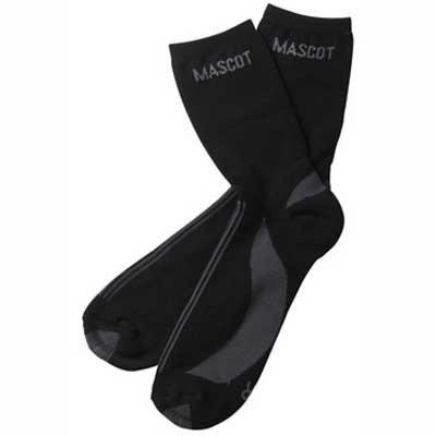 Mascot 50410881091844/48ONE x Socken Asmara, schwarz/dunkelanthrazit, 44/48