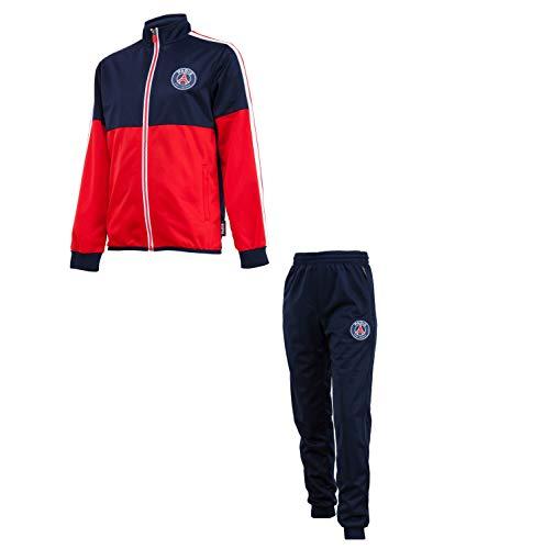 Paris Saint Germain Trainingsanzug PSG – Offizielle Kollektion, Erwachsenengröße, Herren XL blau