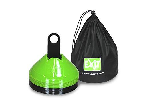 Markierhütchen EXIT grün/schwarz 20 Stück