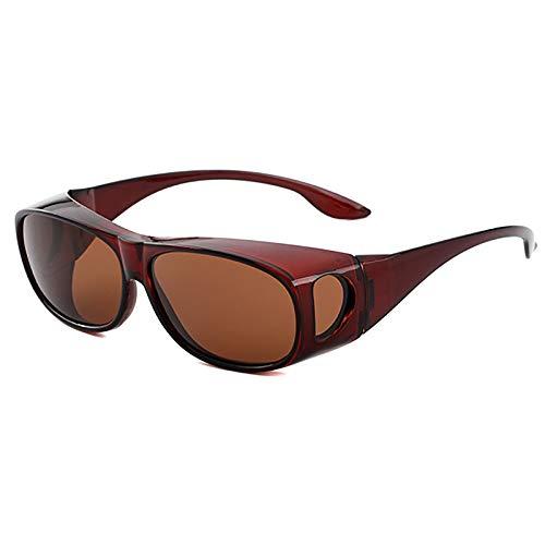 APCHY Gafas De Sol Deportivas Polarizadas para Hombre Y Mujer con Protección UV400 Béisbol Juvenil Ciclismo Pesca Correr Gafas TAC,G