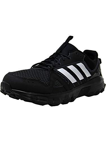 adidas Men's Rockadia m Trail Running Shoe, Core Black/Matte Silver/Carbon, 10 M US