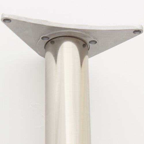 Hartleys Tischbein-Platte 60mm, Befestigungsplatte, Adapter für Tischplatte/Frühstücksbar/Schreibtisch