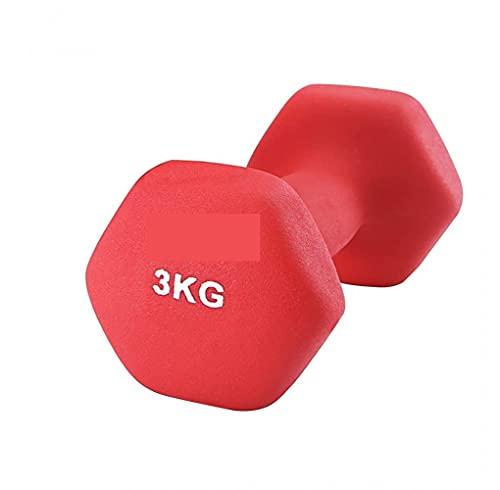 bilanciere bodybuilding Pesi Manubrio Fitness Palestra Body Building Bilanciere Manubri Sport in Neoprene 3 kg