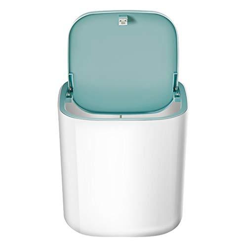 MERIGLARE Mini lavadora portátil, pequeño dormitorio viaje a casa viaje de negocios ropa interior multifuncional lavadora de frutas y verduras - Blanco