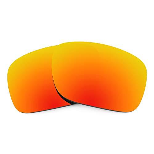 Revant Lentes de Repuesto Compatibles con Gafas de Sol Oakley Holbrook, No Polarizados, Rojo Fuego MirrorShield