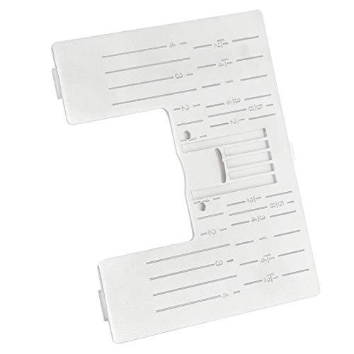 Reemplazo de la placa de la aguja, superficie lisa de la placa de la aguja Hermosa y práctica para la máquina de coser PFAFF