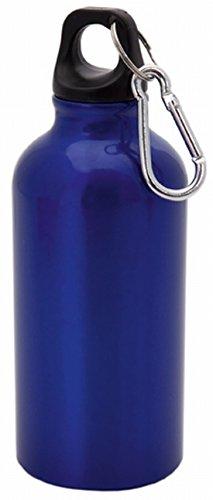 Bottiglia in alluminio/Sport bottiglia con moschettone 400ML