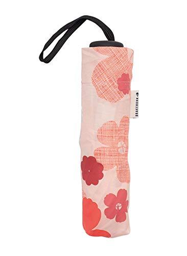 Brakeburn Wild RosePrint Vouw weg dames paraplu een maat
