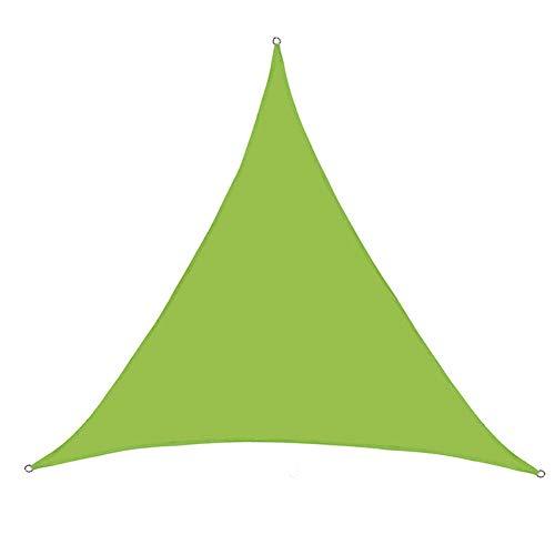 Shade sail,3 * 3 * 3m Triangle Outdoor Garden Patio Party Sunscreen Awning Canopy UV Block,Sun Shade Sail Water Resistant,UV Block Waterproof Sun Shade Sail Awning,1,6 * 6 * 6m
