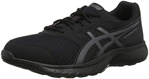Asics Stormer 2, Zapatillas de Entrenamiento Hombre, Negro (Black/Black 001), 44 EU