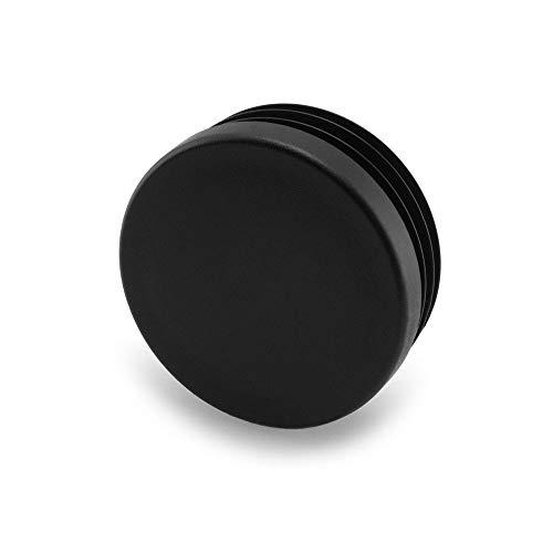 GLEITGUT 4 x Lamellenstopfen 33 mm bis 35 mm Innenrohr - Rundrohrstopfen 38 mm Außenrohr - Stopfen schwarz