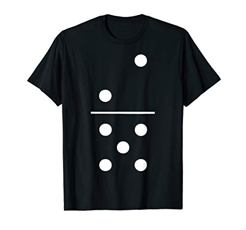 Domino Halloween-Kostüm Gruppe T-Shirt 2–5Tile Stück Tee