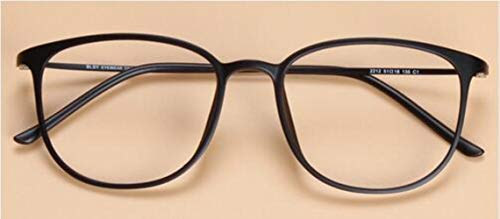 Boner vintage merk ultralicht koolstofstaal brilmontuur vrouwen super groot nerd frame decoratief bijziendheid brilmontuur, mat zwart