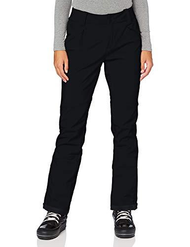 Columbia Roffe Ridge III Los Pantalones De Esquí Térmicas, para Mujer, Negro, 12/R