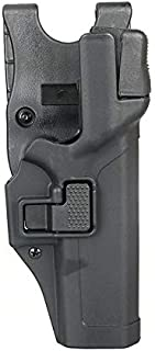 Tactical Glock Holster Military Concealment Level 3 Lock Right Hand Waist Belt Gun Pistol Holster for Glock 17 19 22 23 31