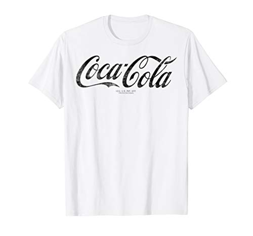 Coca-Cola Vintage Black Logo Graphic T-Shirt