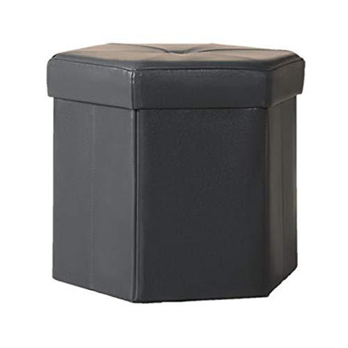 Taburete Hogar Puede Sentarse Caja De Almacenamiento Zapatos De Cambio De Pasillo Almacenamiento Hexagonal Sofá De Salón Maquillaje
