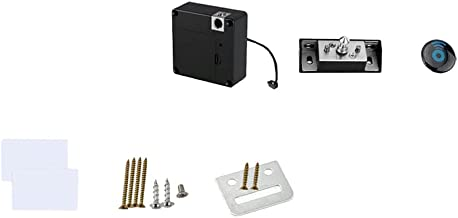 Angoily Elektronisch Kabinetslot Verborgen Lade Lock Smart Lock Draadloos voor Kabinet Lade Pantry Locker Geen Batterij
