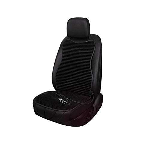 lennonsi Auto Sitzmatte Beheizbar Sitzauflage Auto Sitzkissen Sitzbezug mit Heizung und Belüftung Funktion