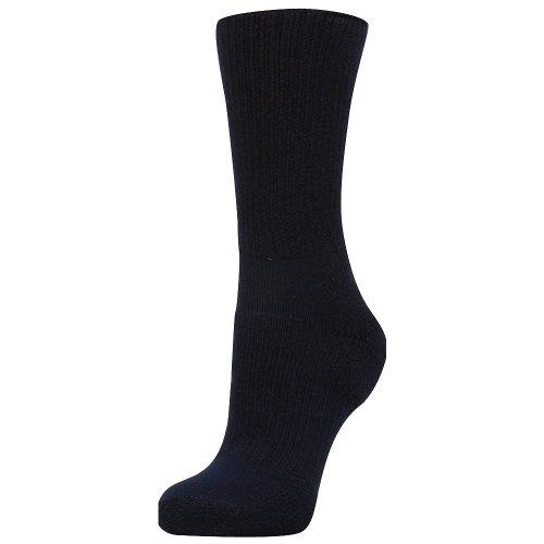 Thorlos Walking Crew Socks Navy MD (Men's Shoe 5.5-8.5, Women's Shoe 6.5-10)