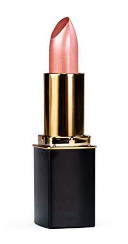 L'Paige L56 Rosy Pearl Designer Lipstick,All-Natural, AloeVera, Long-lasting Moisturizing