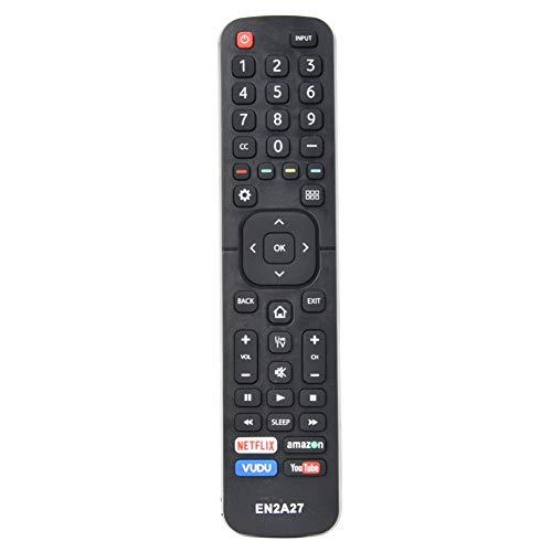 Diyeeni Control Remoto para Hisense EN2A27 para EN2A27 LED HDTV, Smart TV Control Remoto/Mando a Distancia para TV Hisense