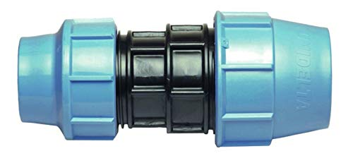 40 mm auf 32 mm Reduziermuff MDPE PE Wasserrohr Kunststoff Buchse Adapter